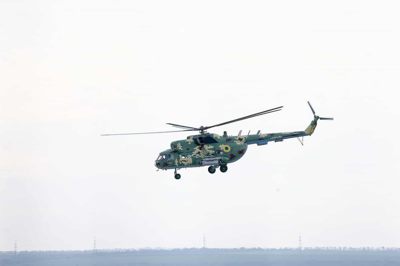 Мі-8МСБ модернізовані на підприємстві Мотор-Січ у Запоріжжі