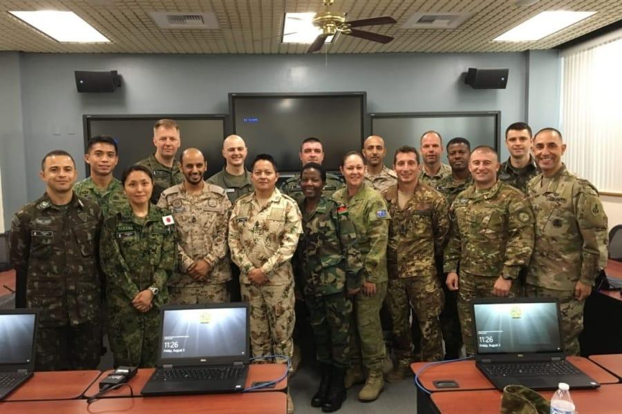 Міжнародний випуск академії сержант-майорів США