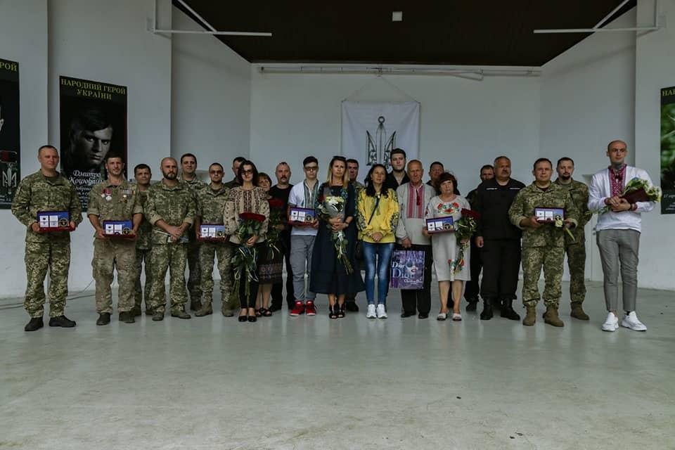 Нагородженні орденом Народний Герой у Рівному в серпні 2019-го