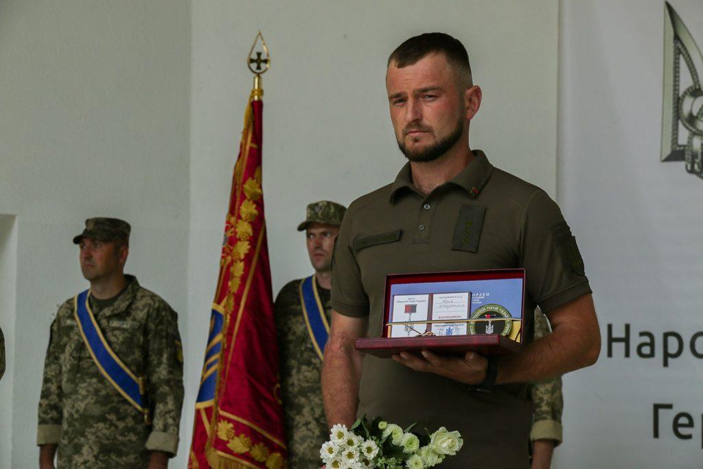 Нагородження Юрія Капусняка
