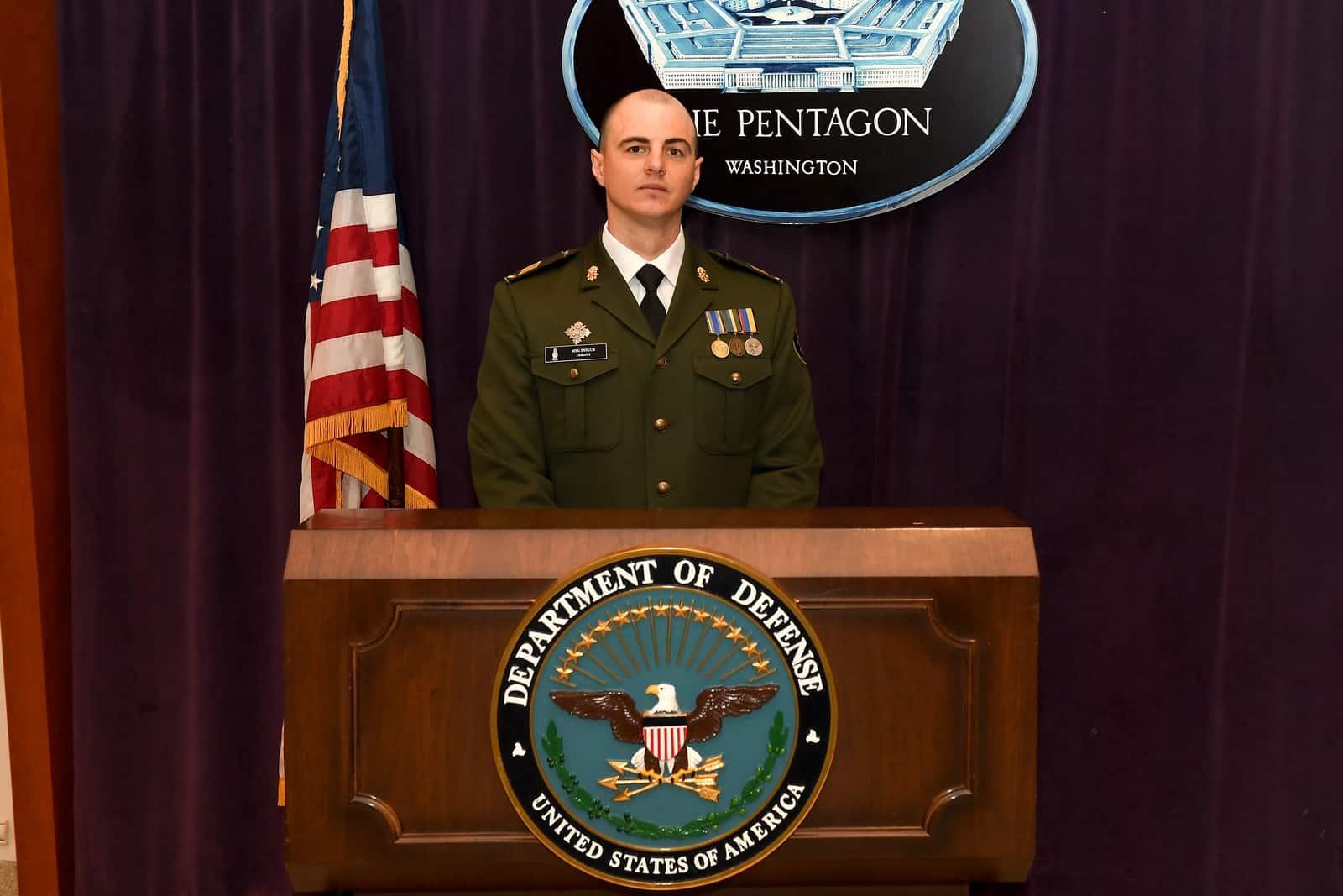 Олег Снігур у Пентагоні