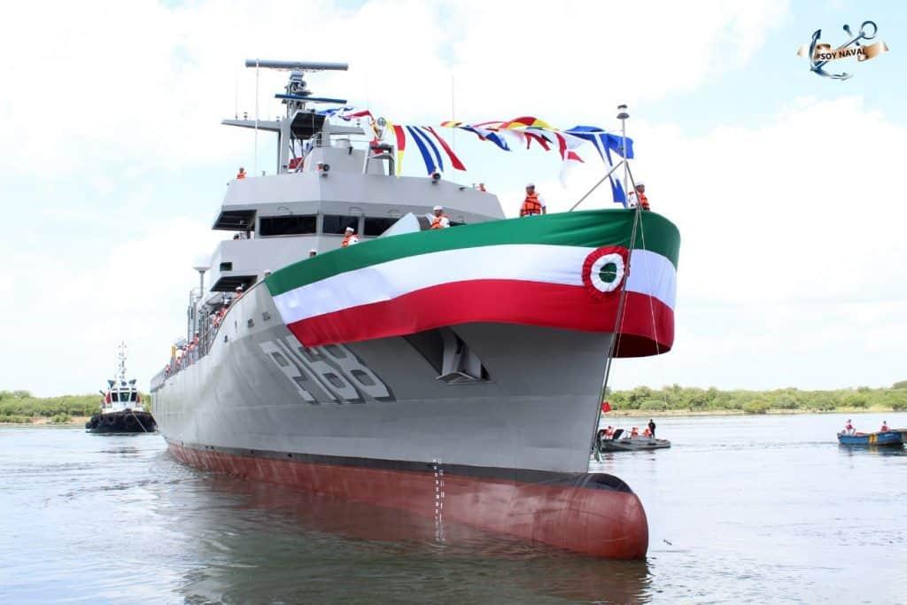 Мексика отримала фінальний корабель класу Oaxaca