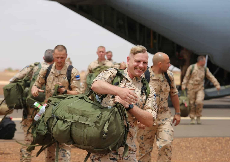 Піхотний підрозділ Estpla-32 Сил оборони Естонії прибув до Малі