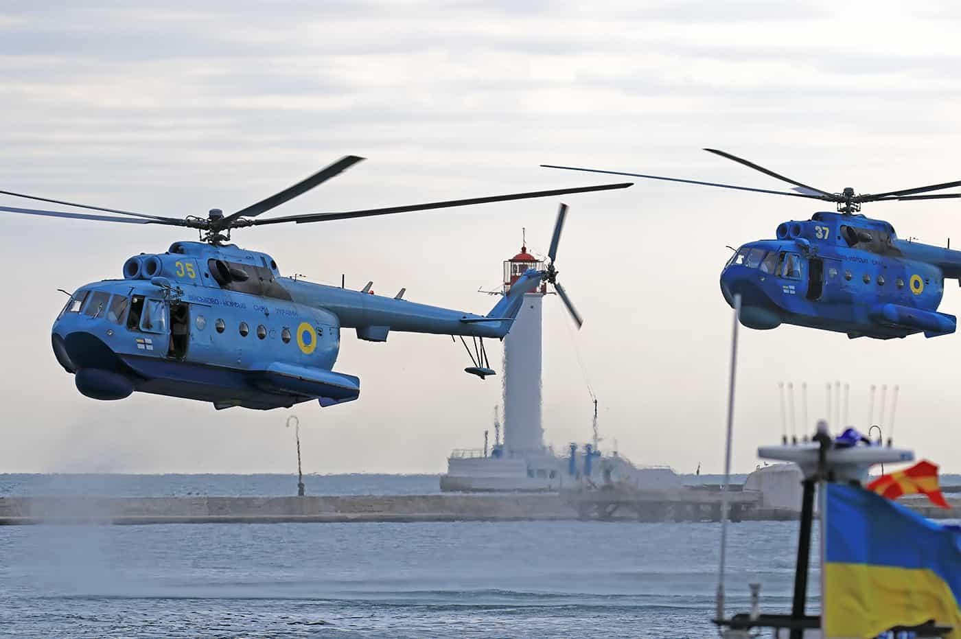 Протичовнові гелікоптери Мі-14ПЛ