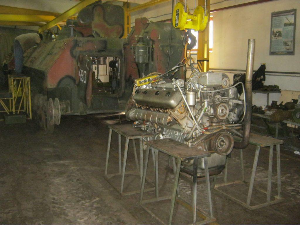Проведення ремонту та модернізації 1В12 на 731-й базі артилерійського озброєння