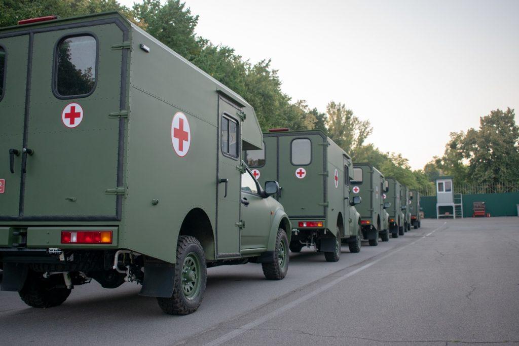 Санітарні автомобілі «Богдан 2251» виготовлені та передані в рамках останньої у 2019-у році партії