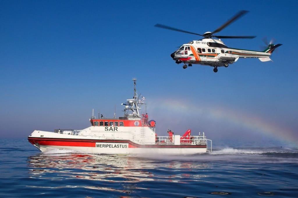 Морські рятувальники України переймали досвід в Естонії