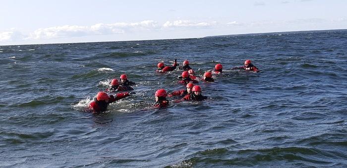 Українські морські рятувальники у Естонії