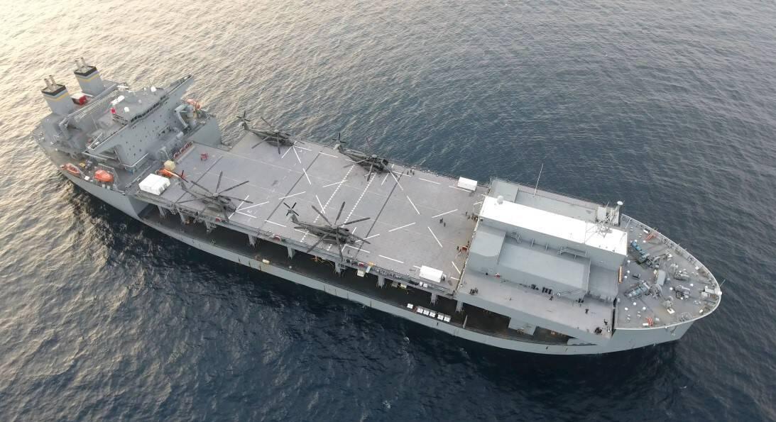 США замовляє додаткові морські експедиційні бази
