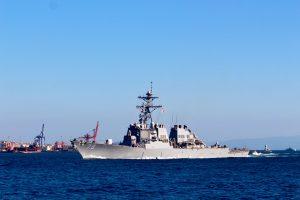 """До Чорного моря прибув есмінець США """"Porter"""""""