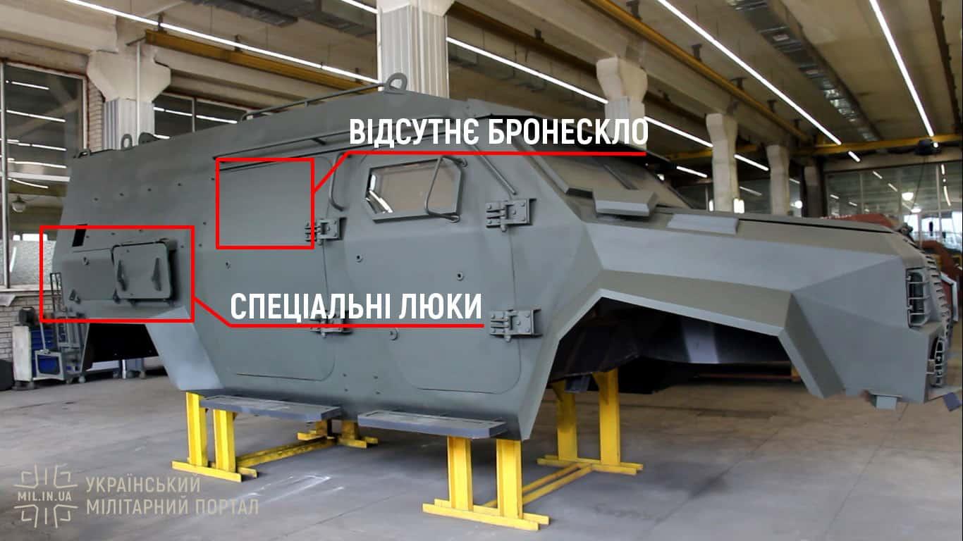 Відмінність корпусу Барс-8ММК від Барс-8