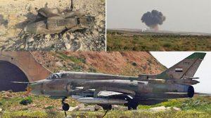 В Сирії збили Су-22 військ Асада