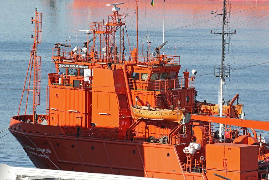 """Багатоцільове аварійно-рятувальне судно """"Олександр Охріменко"""". Фото - dumskaya.net"""