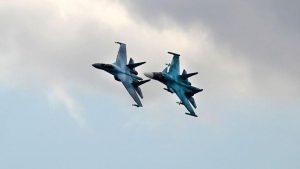 В Росії зіштовхнулися два Су-34