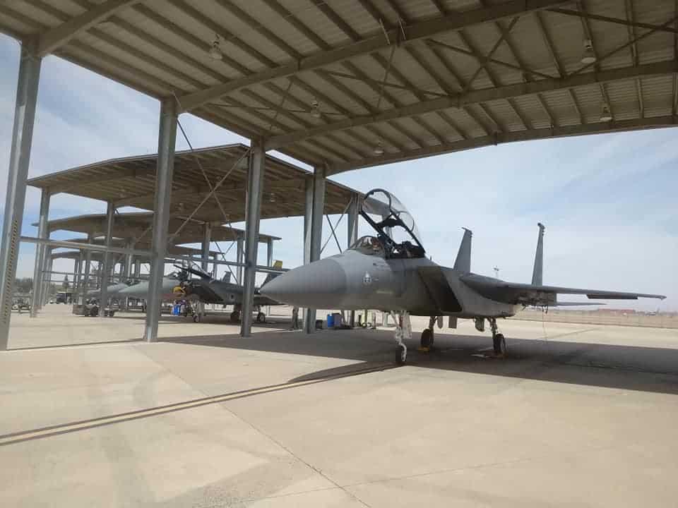 F-15D зі складу 144-го авіаційного крила