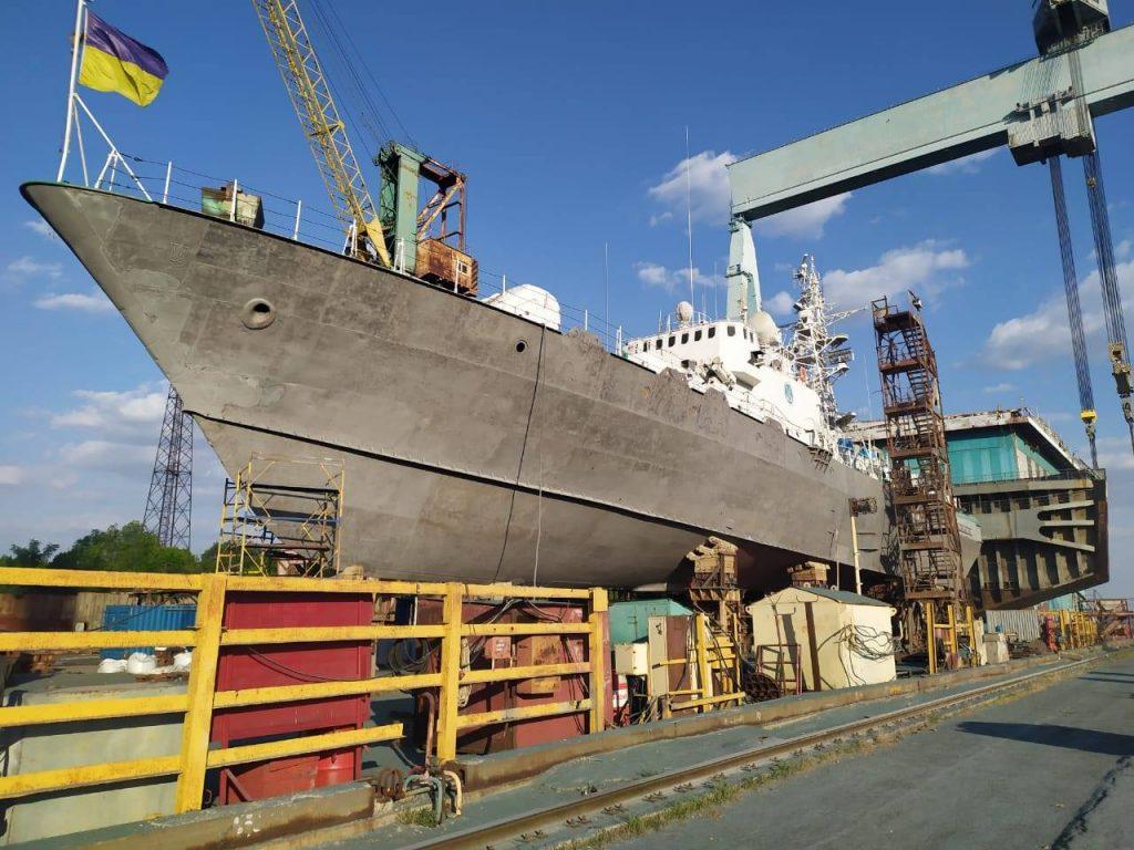 «Григорій Куроп'ятников» (BG-50) в ході докового ремонту
