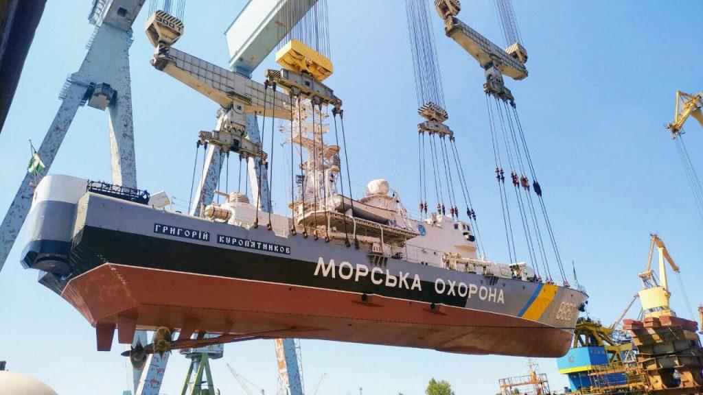 «Григорій Куроп'ятников» (BG-50) завершує докову частину ремонту