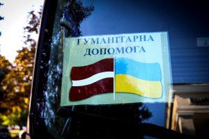 На Донбас прибув гуманітарний вантаж з Латвії