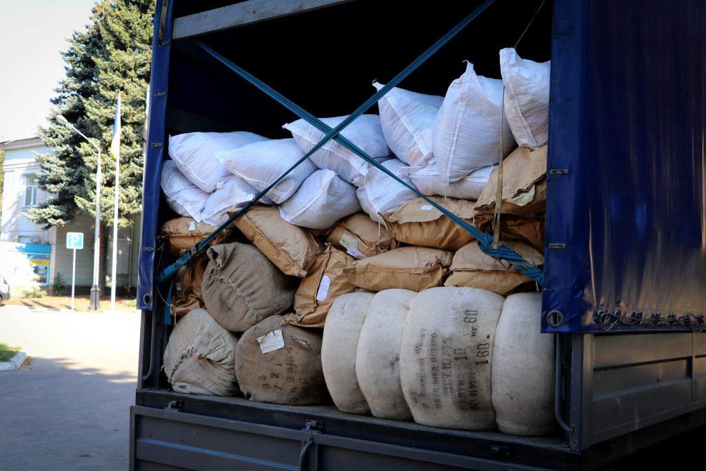 Гуманітарний вантаж з Латвії