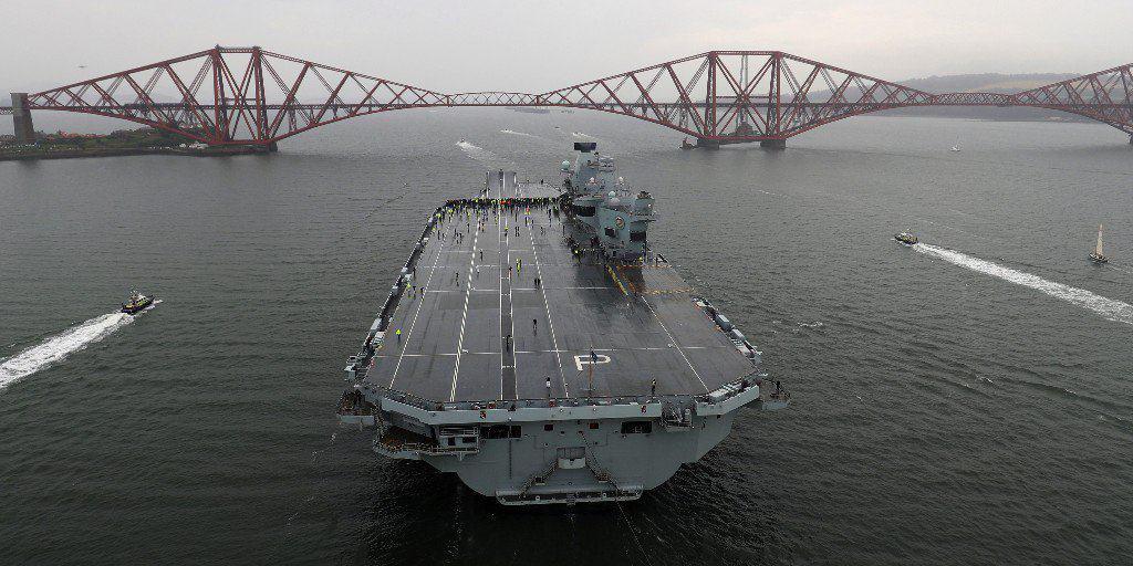 HMS Prince of Wales вийшов на ходові випробування