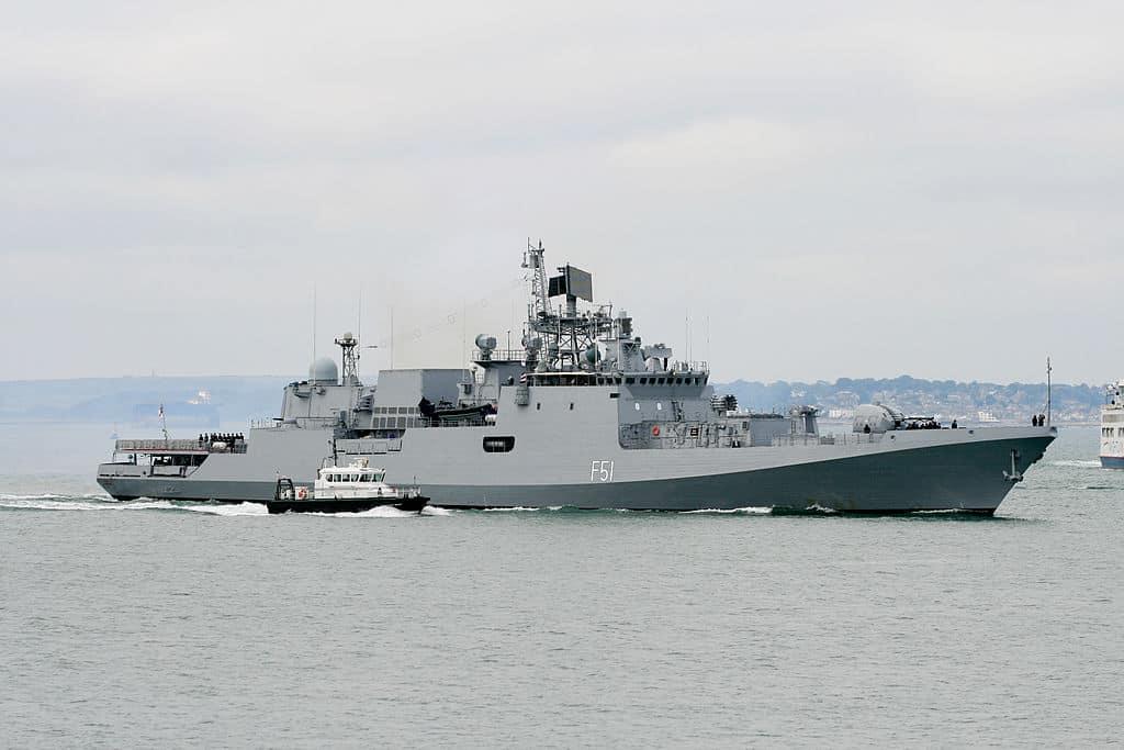 INS «Trikand» (F51) у 2013-у році
