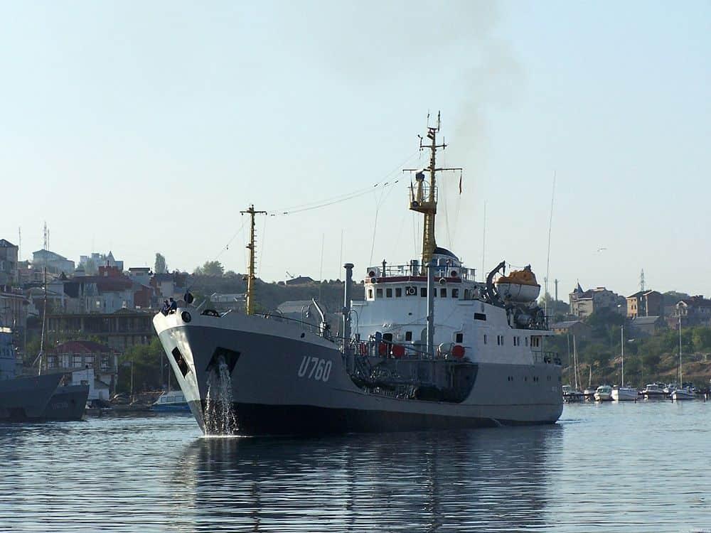 Міноборони списало чотири судна забезпечення