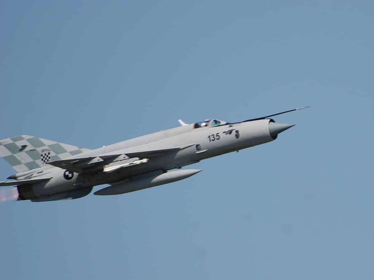 Хорватський винищувач перехопив український літак