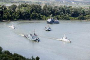 Стартували спільні з Румунією навчання на Дунаї
