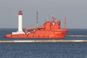 «Oleksandr Okhrimenko» ship arrived in Odesa