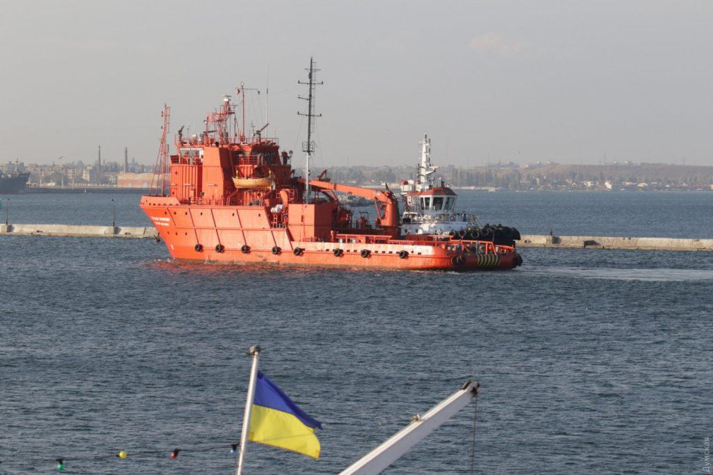 «Олександр Охрименко» прибув до Одеси