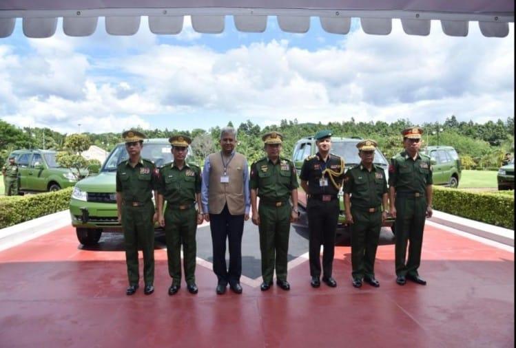 Передача Tata Safari Storme для армії М'янми
