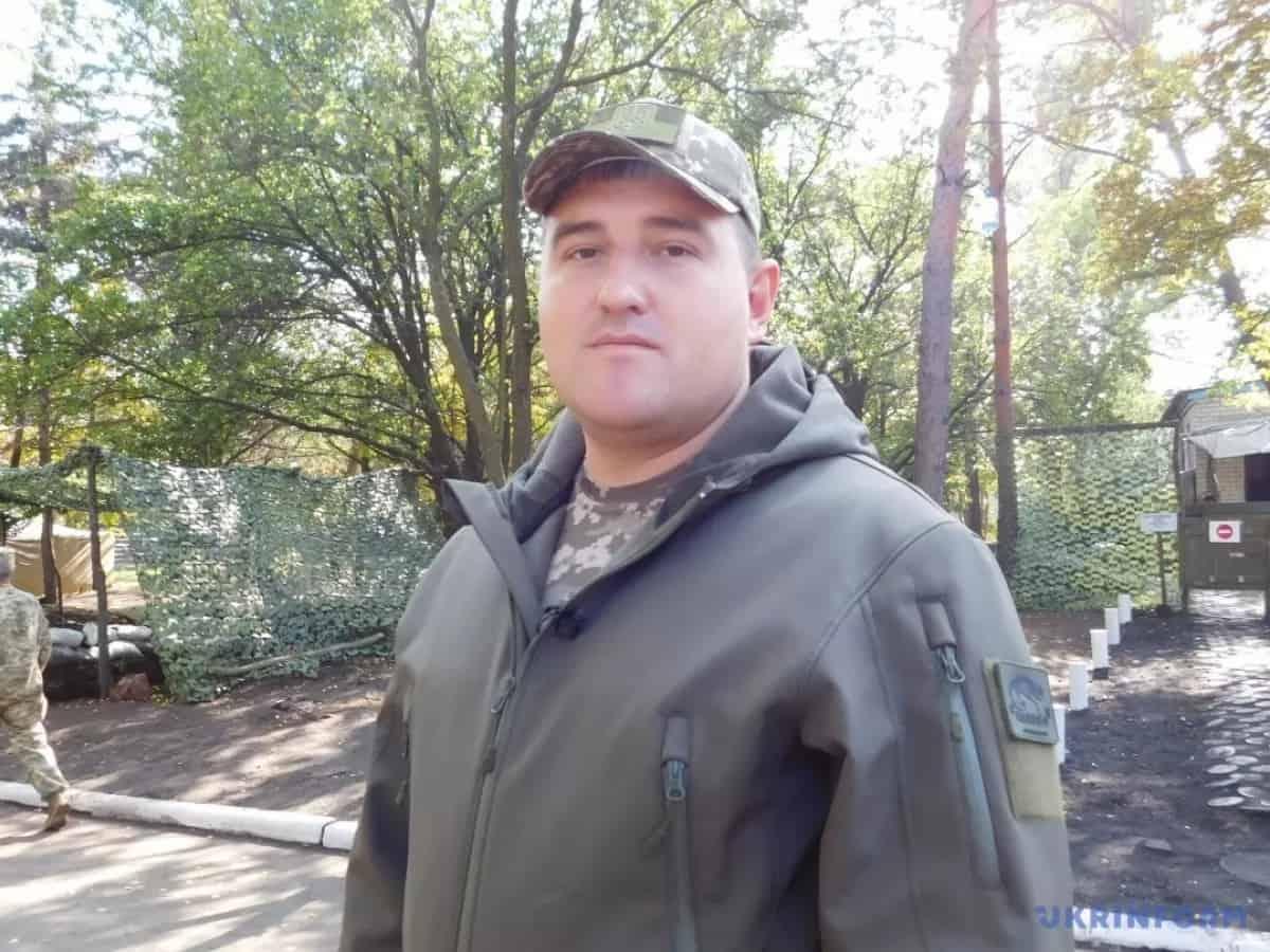 Підполковник Дмитро Лисюк