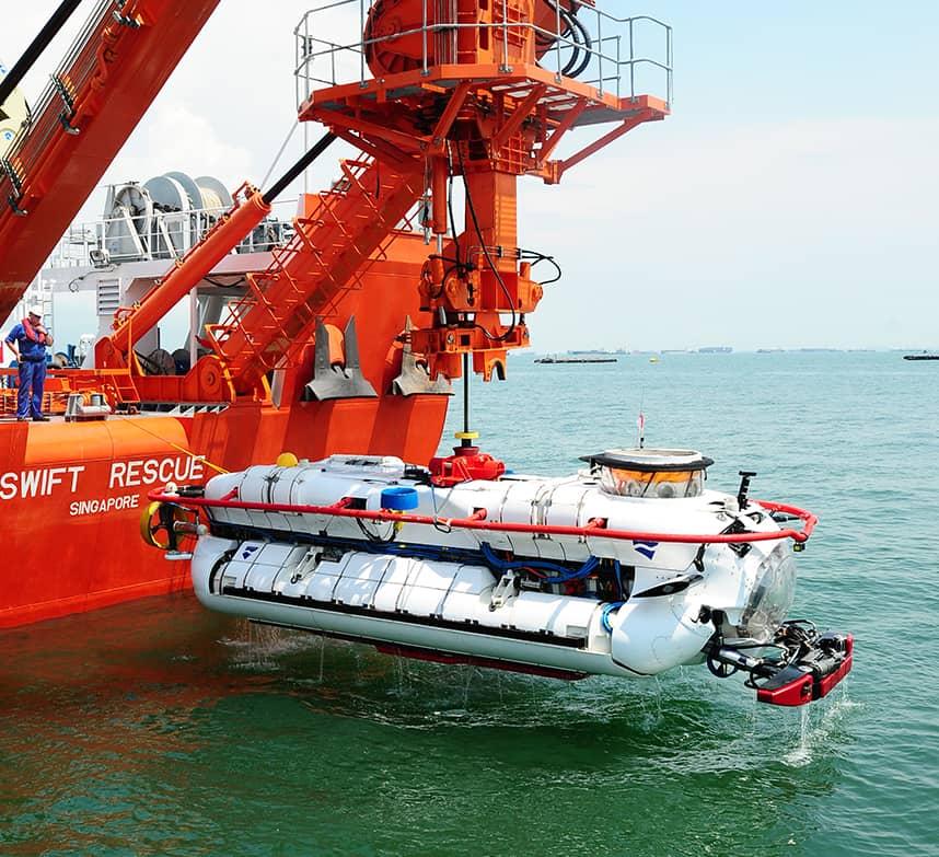 Британія припинила постачання підводних апаратів у Росію