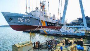 Завершилась докова частина ремонту двох кораблів Морської охорони