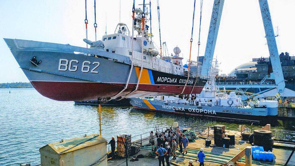 «Поділля» (BG-62) завершує докову частину ремонту