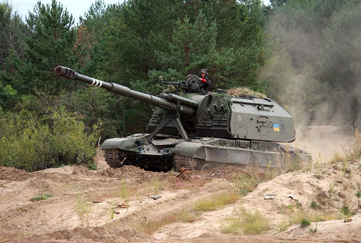 Самохідна артилерійська установка (САУ) МСТА-С