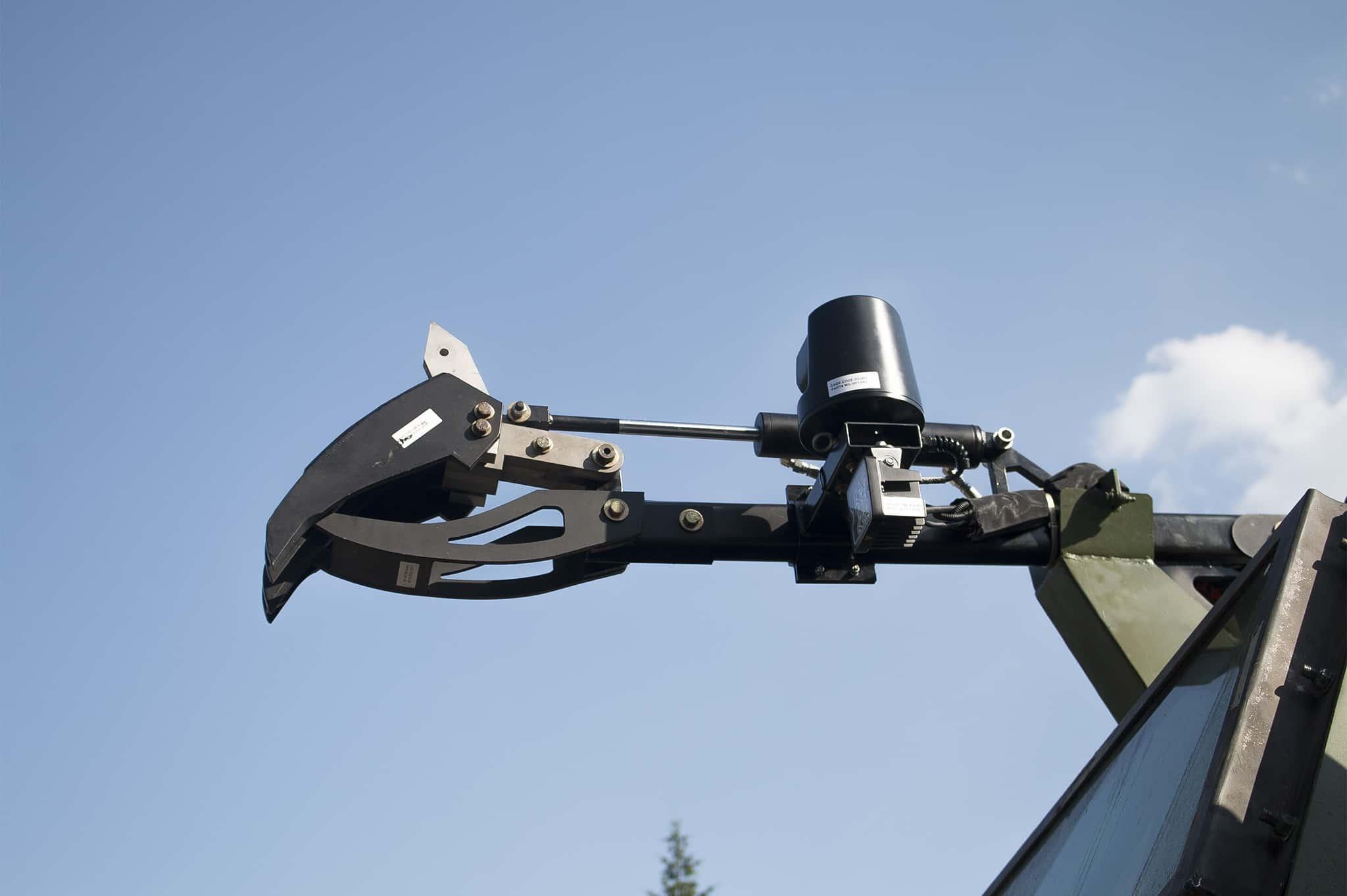 Спеціальний маніпулятор на автомобілі «Шрек-М»