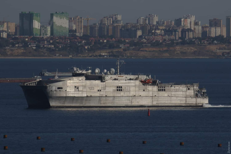 USNS Yuma (T-EPF-8) під час заходу в порт Одеси 19 вересня 2019-го року