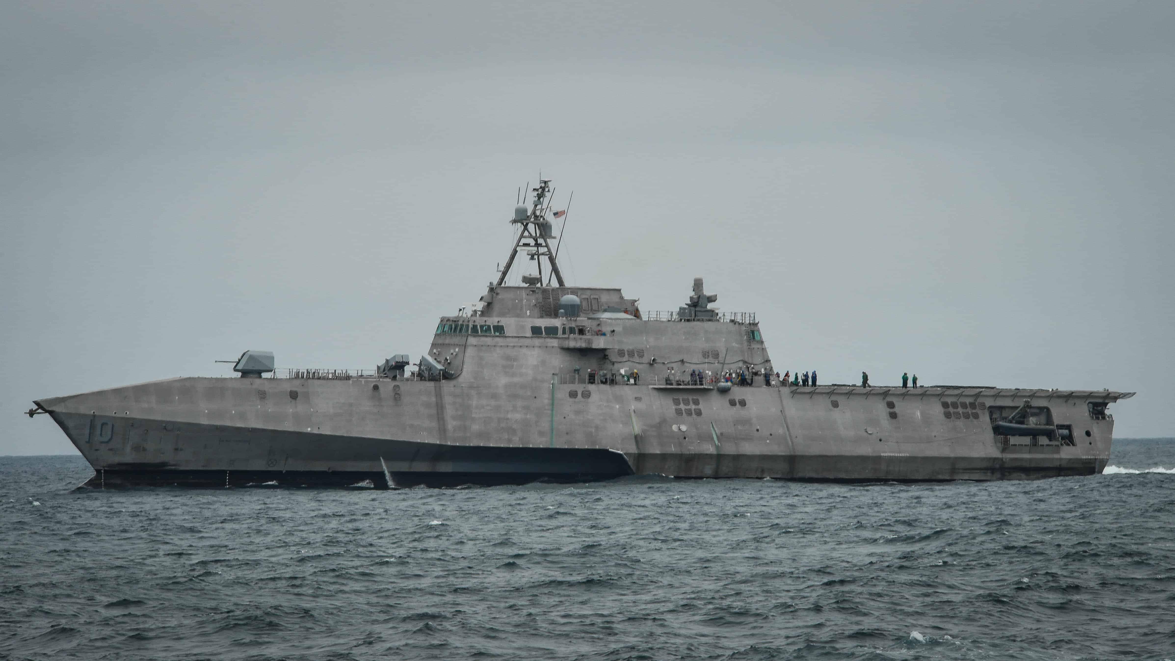 Перший корабель США озброївся NSM