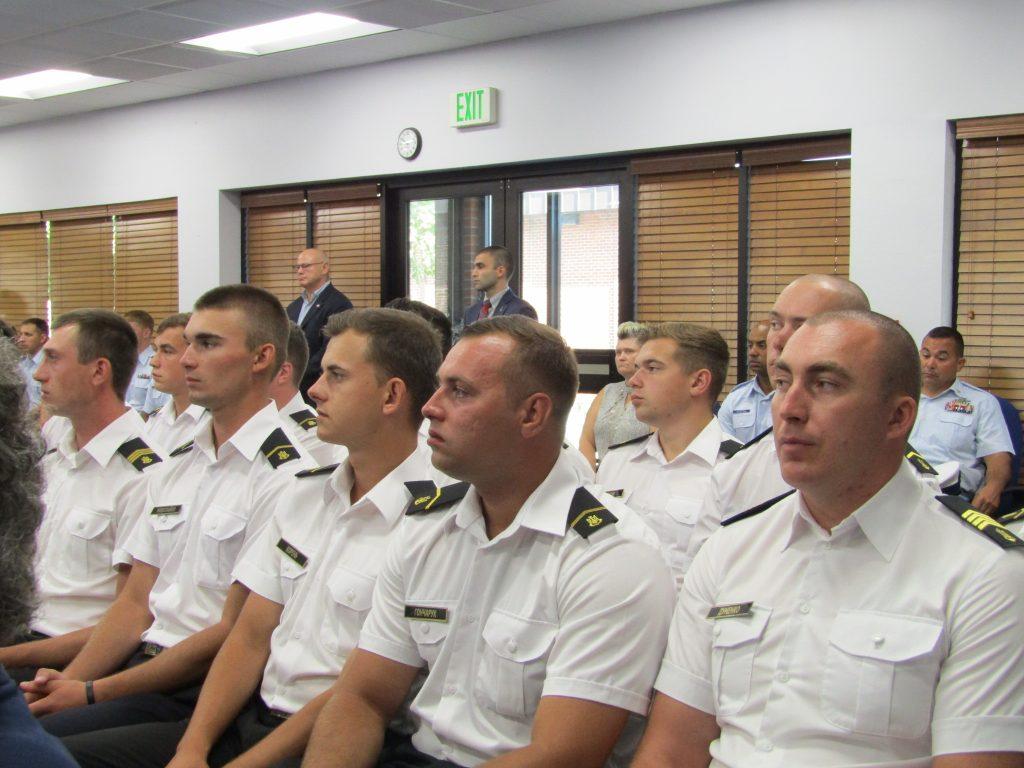Українські екіпажі патрульних катерів типу Айленд