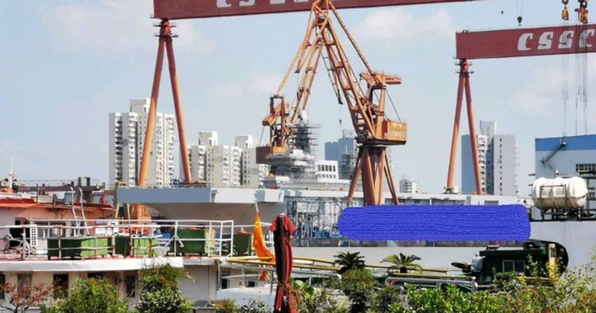Китай готує до спуску свій перший вертольотоносець