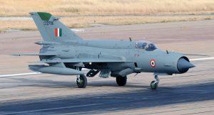 В Індії впав МіГ-21