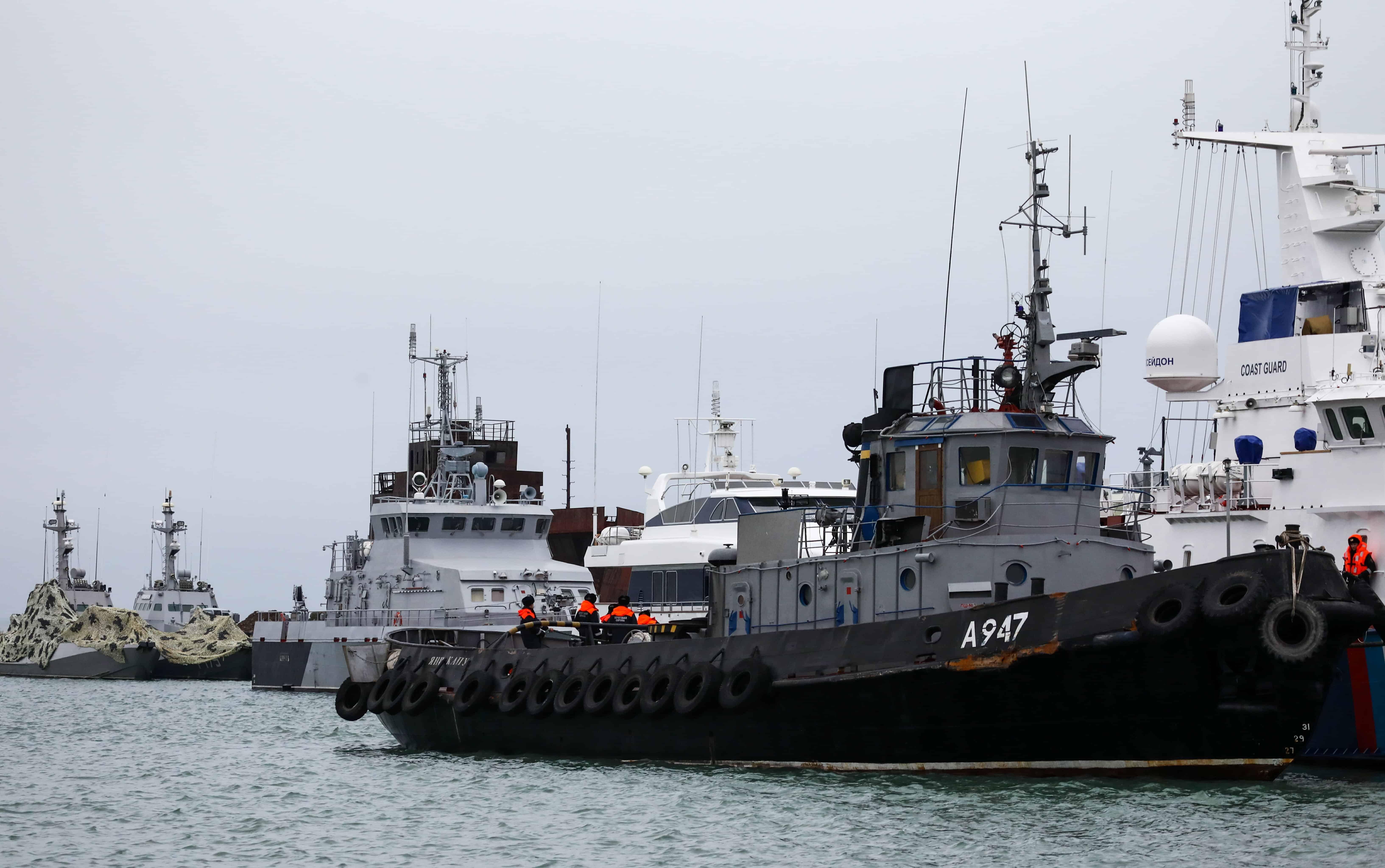 Майбутня доля захоплених українських кораблів
