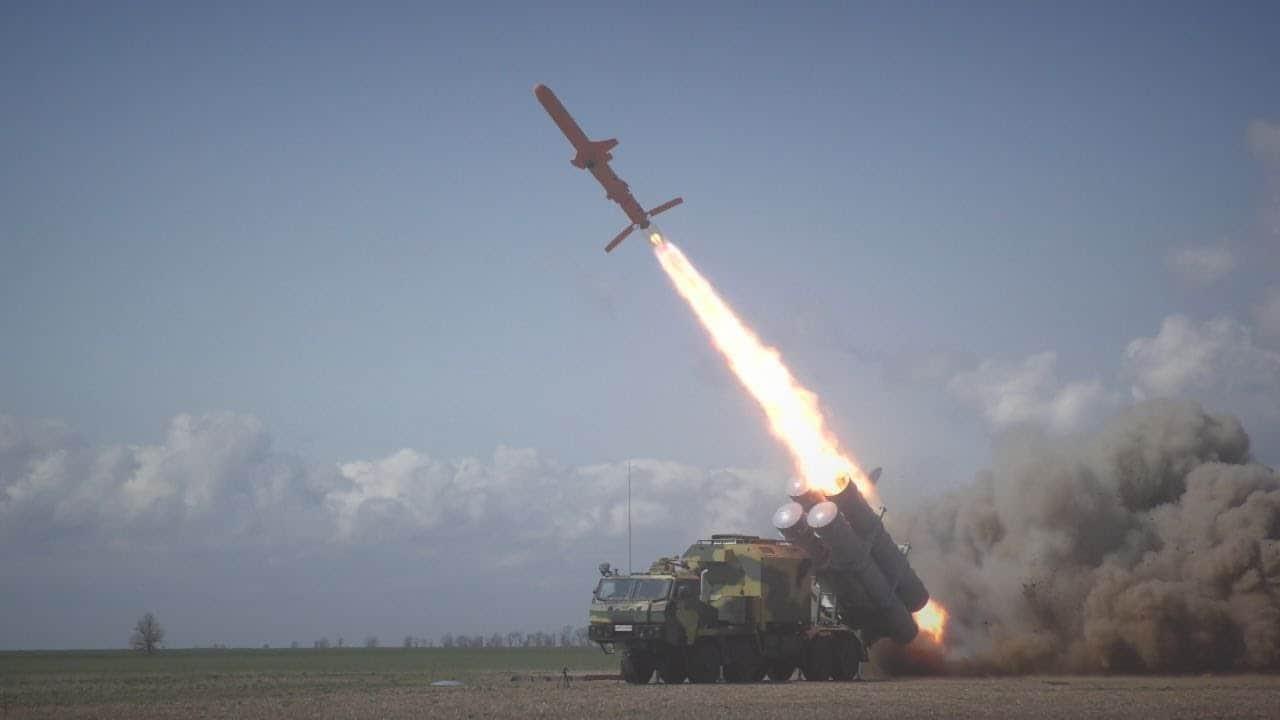 "Запуск ракети Р-360 ракетного комплексу РК-360 ""Нептун"""