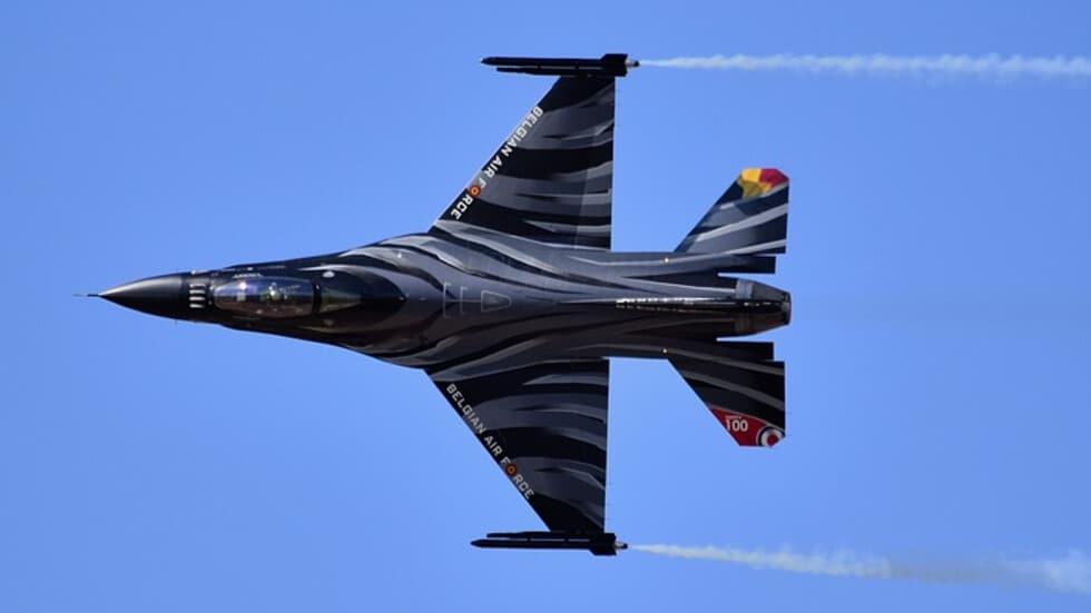 Бельгійський F-16 розбився у Франції