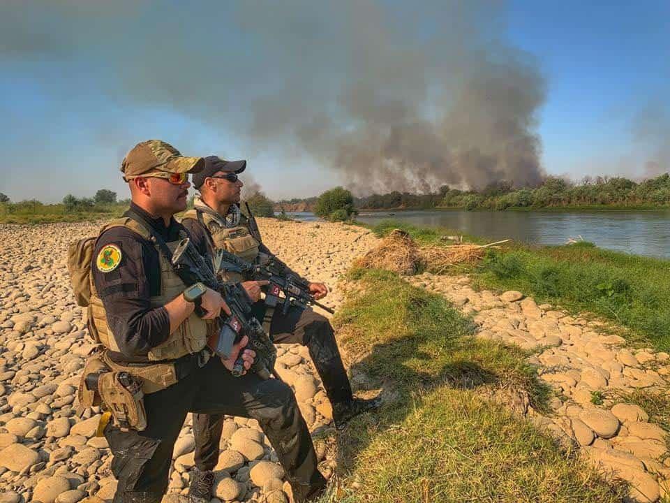 ВПС  міжнародної коаліції завдали бомбового удару по позиціях Ісламської держави