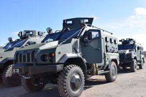 """Бронеавтомобіль """"Варта"""": тепер на озброєнні 28 ОМБр"""