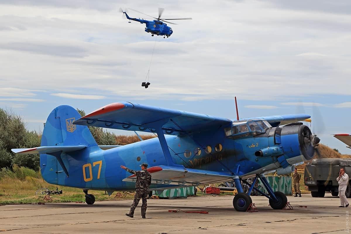 Ан-2 бортовий номер 07 на озброєнні 10 морської авіаційної бригади