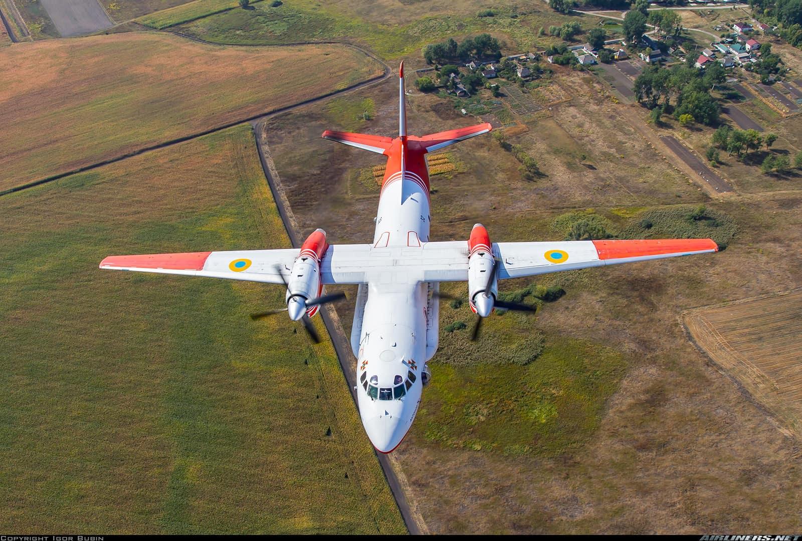 Ан-32П у польоті