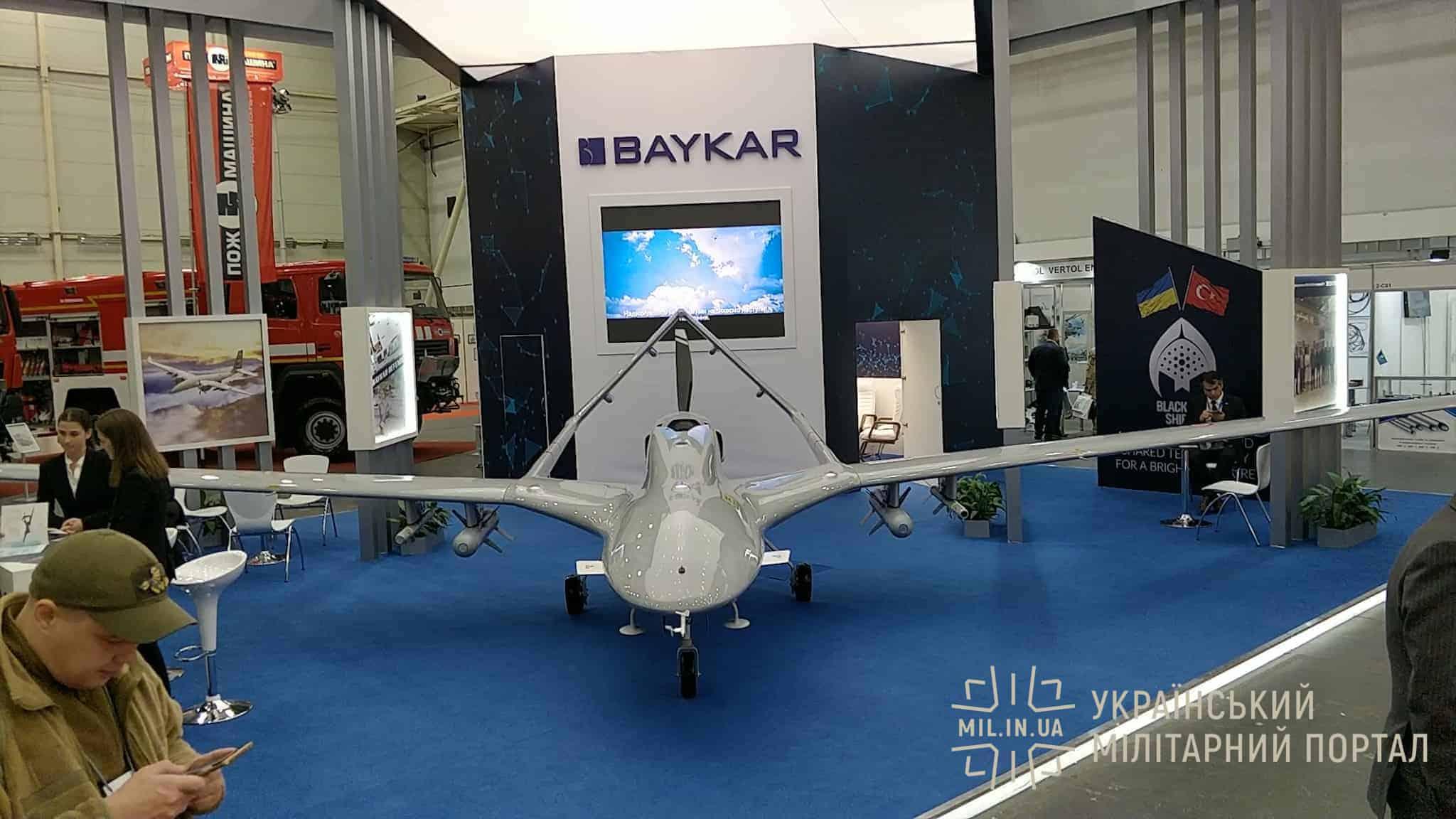 Турецький ударний безпілотник Bayraktar TB2 доступний для огляду